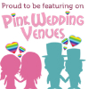 Proud to be featuring on Pink Wedding Venues
