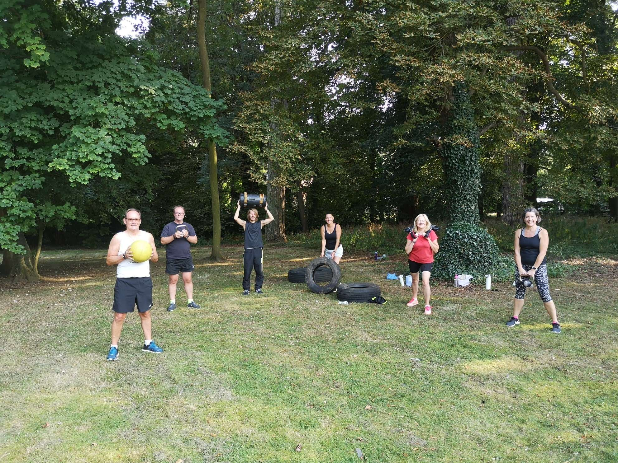 OUTDOOR FITNESS FOR BANNATYNE BURY ST EDMUNDS MEMBERS