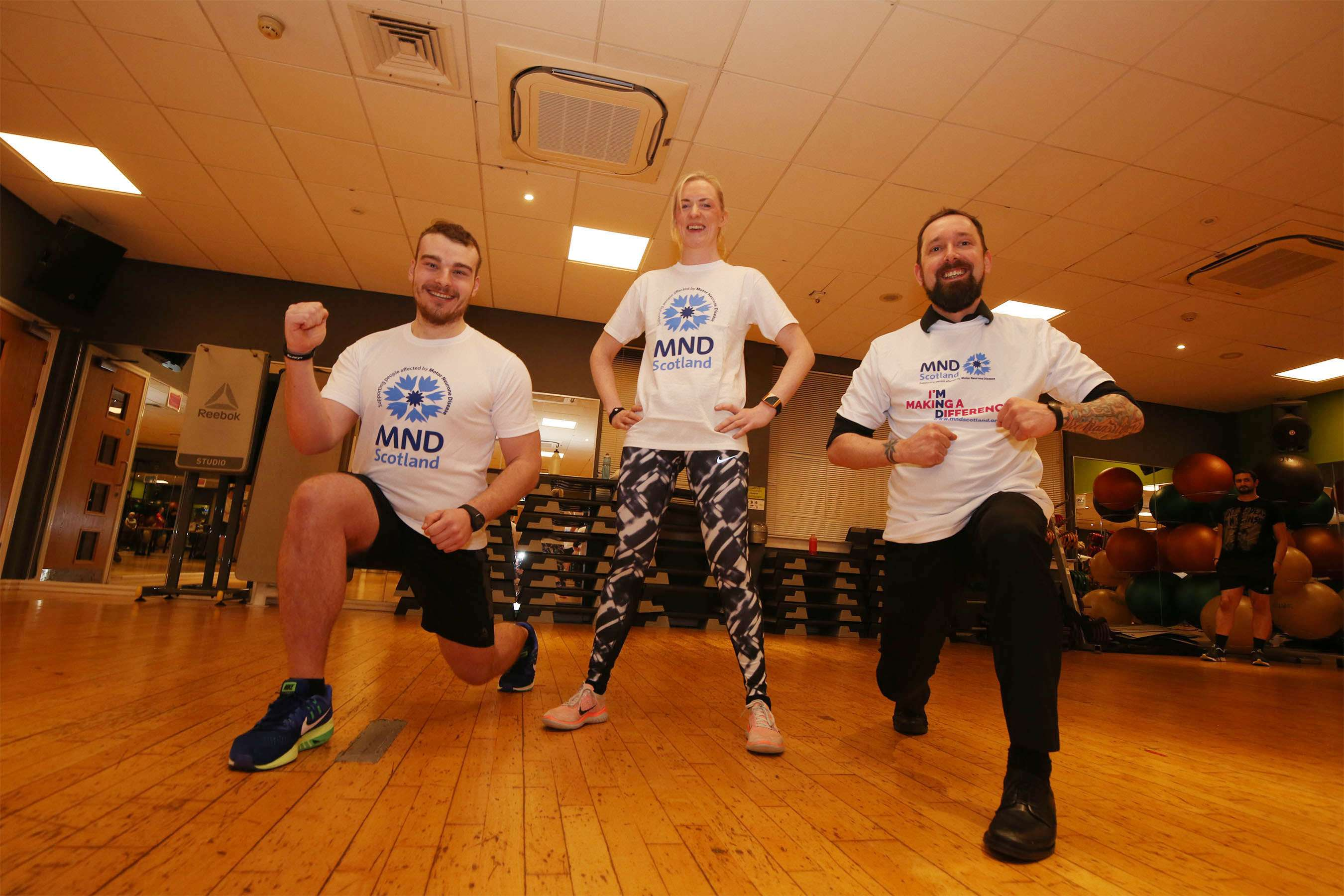 Bannatyne Ayr member confronts world's highest zipwire for charity