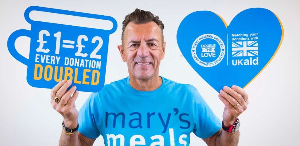 We support Mary's Meals Double The Love Campaign!