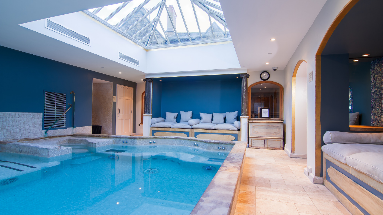Hotels in somerset charlton house hotel spa luxury - Cheddar gorge hotels with swimming pools ...